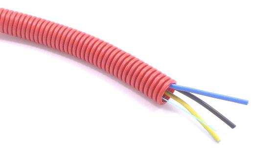 Electrificaci n y fibra ptica pvc de monterrey for Tubo corrugado rojo precio